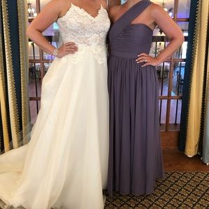 weddington way Dresses - 1 shoulder bridesmaid dress